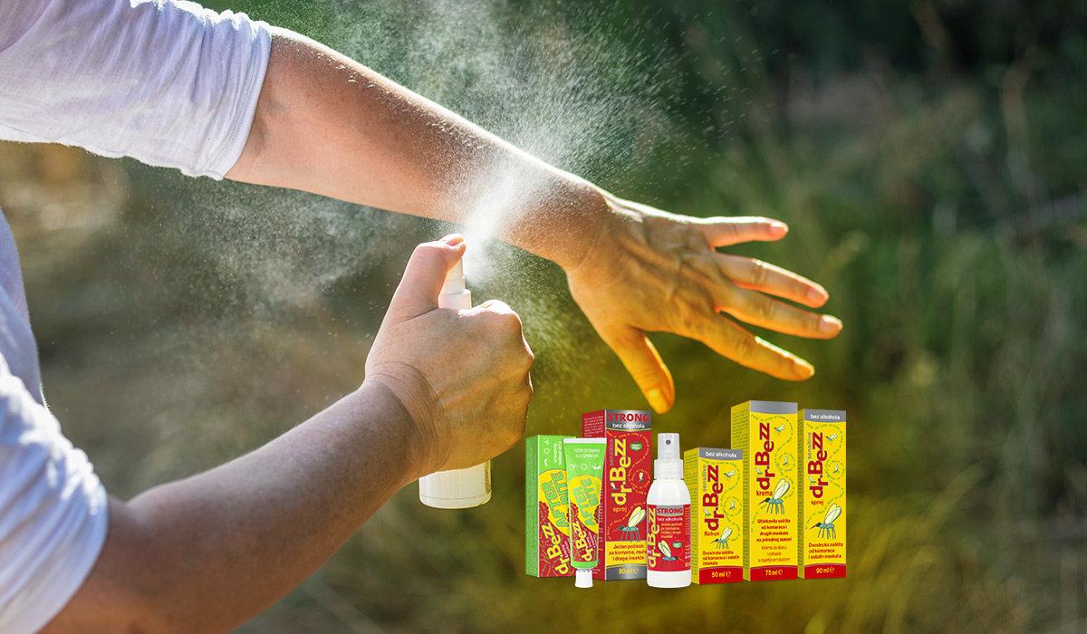 Dr. Bezz - sigurna i učinkovita zaštita protiv komaraca